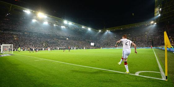 Länderspiel in Dortmund