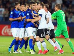 0:1 gegen Italien, aber DFB-Elf im Halbfinale
