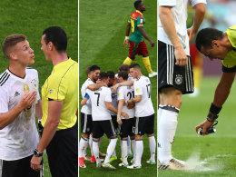 Bilder: DFB-Elf Gruppensieger, Chiles Patzer
