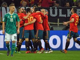Toller Test gegen Spanien: Müller rettet ein 1:1
