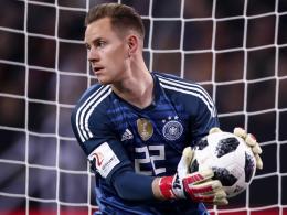 Deutschland ohne ter Stegen gegen Brasilien