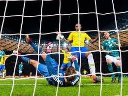Luft nach oben: Deutschland unterliegt Brasilien mit 0:1