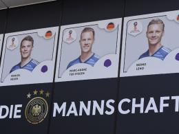 1 bis 27 vergeben: Die Rückennummern der Nationalspieler