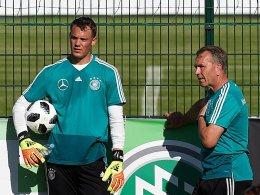 Keine Bedenken: Neuer soll gegen Österreich spielen