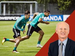 Mit Khedira, Özil und Reus - aber ohne Draxler