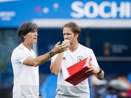 Abschlusstraining: Rüdiger, Brandt und Gomez in A-Elf