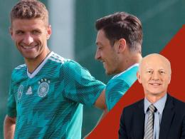 Noch einmal Müller, wieder Özil und Khedira - und Süle