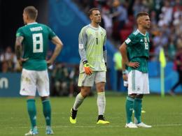FIFA-Weltrangliste: Deutschland rutscht böse ab