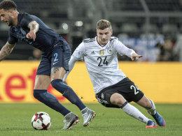 Deutschland ohne Werner nach Dänemark