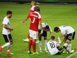 Sechs Debütanten und ein spätes Remis gegen Dänemark