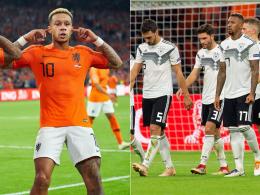 Fehlschüsse und keine Balance: DFB-Elf verliert 0:3 in Amsterdam