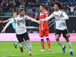 Höchster Sieg im Jahr 2018: 3:0 gegen Russland