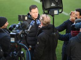 DFB-Kicker nicht vorm TV: Für Bierhoff
