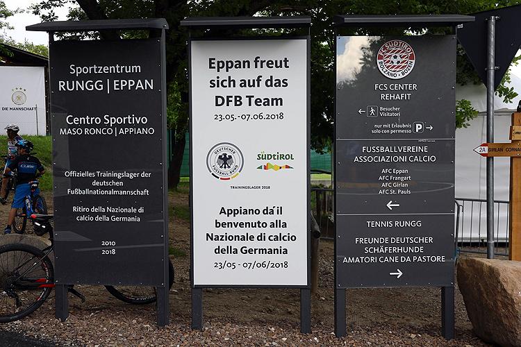 So trainiert und logiert die DFB-Elf