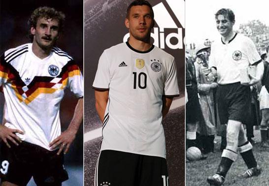 Rudi V�ller, Lukas Podolski, Fritz Walter