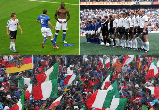 Deutschland contra Italien: Der ewige Klassiker