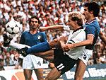 Deutsche Finalniederlage 1982 gegen Italien