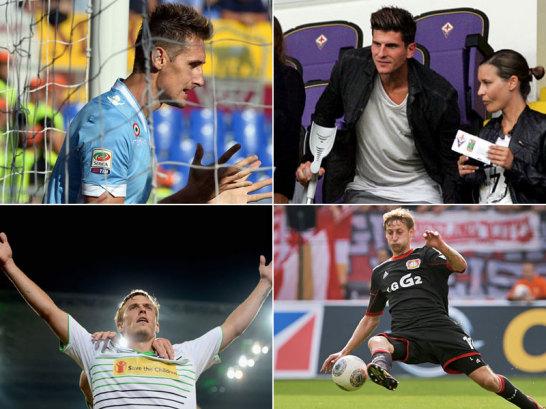 Noch hat Deutschland die WM-Qualifikation nicht geschafft. Stellt sich die Frage, wer f�r die verletzten St�rmer gegen Irland und Schweden in den Kader r�ckt. Kruse? Volland? Eine falsche Neun? Oder etwa doch Kie�ling?