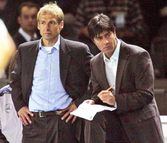 J�rgen Klinsmann, Joachim L�w