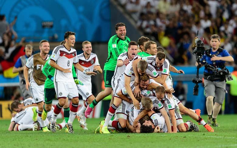 Fast unvergessen: Deutschlands Weltmeister-Party in Rio