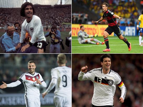 Ewige Torj�gerliste der deutschen Nationalmannschaft