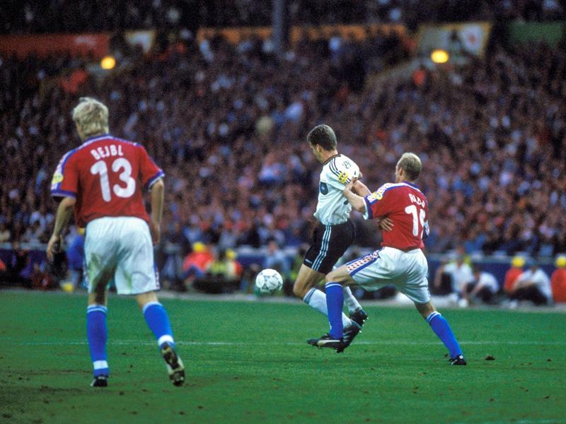 Bierhoffs Golden Goal von Wembley wird 20