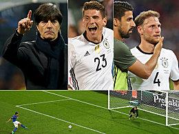 Bilanz und Ereignisse des Länderspieljahrs 2016