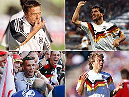 Der Hunderter-Klub der deutschen Nationalspieler