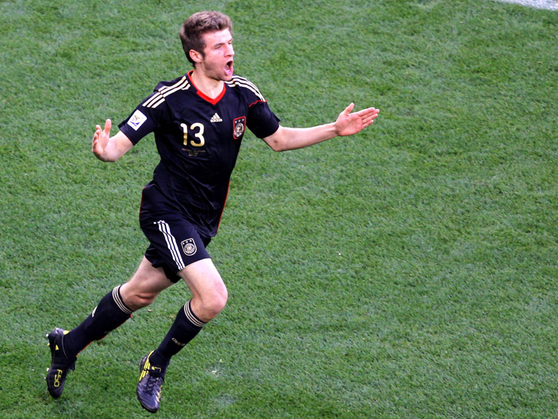 Müller klopft an: Der Hunderter-Klub der DFB-Auswahl