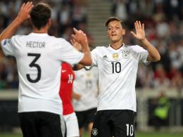 Özil, Werner und Co. zerlegen Norwegen