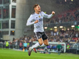 Goretzkas Sahnetor leitet deutschen Rekordsieg ein