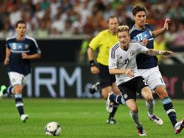Reus gegen Fernandez (re.)