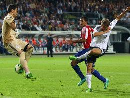 Müller markiert das 2:2