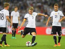 DFB-Elf siegt 2:0 bei Schweinsteigers Abschied