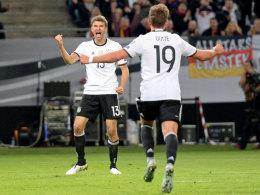 Müller ebnet Deutschland den Weg