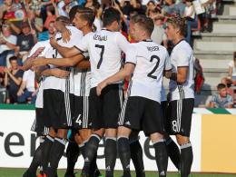 Deutsche U 21 siegt bei Kuntz-Debüt