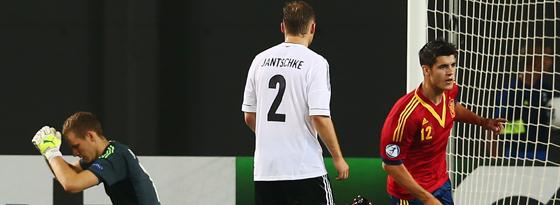 Bernd Leno, Tony Jantschke & Alvaro Morata