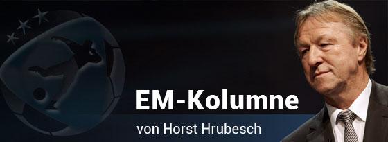 Kolumnist Horst Hrubesch