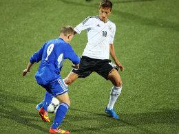 Moritz Leitner soll gegen Montenegro den verletzten Kevin Volland vergessen machen.