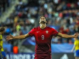Besorgte für Portugal das erlösende 1:0: Joker Goncalo Paciencia.