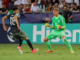Finale! Deutschland schlägt England im Elfmeterschießen