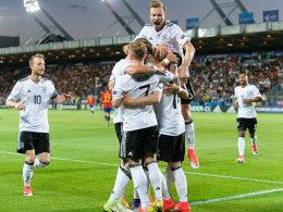 Deutsche U 21 holt EM-Titel: Bilder vom Sieg gegen La Rojita
