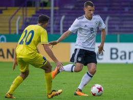 Deutschland siegt knapp gegen den Kosovo