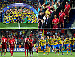 Schweden feiert, Portugal trauert
