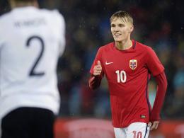 Ödegaard zaubert - Deutschland verliert 1:3