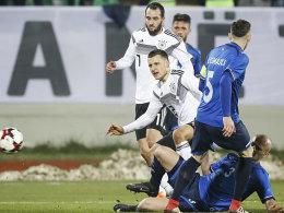 Deutsche U 21 scheitert am kosovarischen Beton