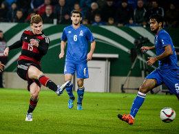 Deutschland dreht Spiel gegen Aserbaidschan