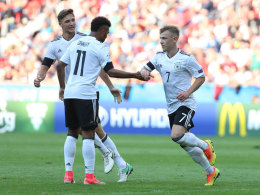 Meyer und Gnabry sichern den optimalen Start