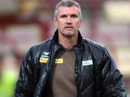 Thomas von Heesen ist nicht mehr Trainer des Kapfenberger SV.