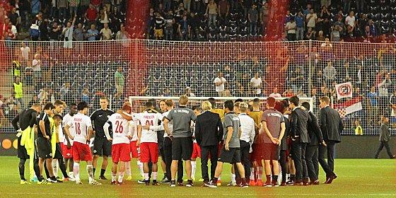 Stimmungstief: Salzburg nach dem Aus in der CL-Qualifikation.